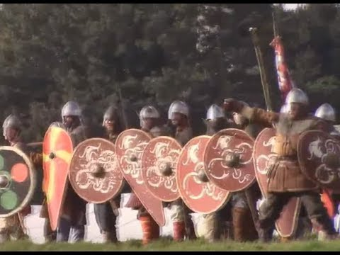 Battle of Hastings Reenactment, 2017 (1/2)  Armies Deploy, the Norman Champion, First Assault