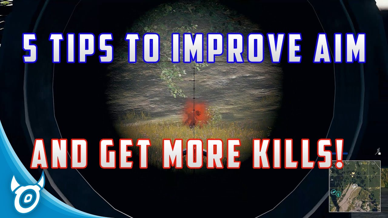How To Improve In Pubg: 5 TIPS TO IMPROVE AIM AND GET MORE KILLS IN PUBG