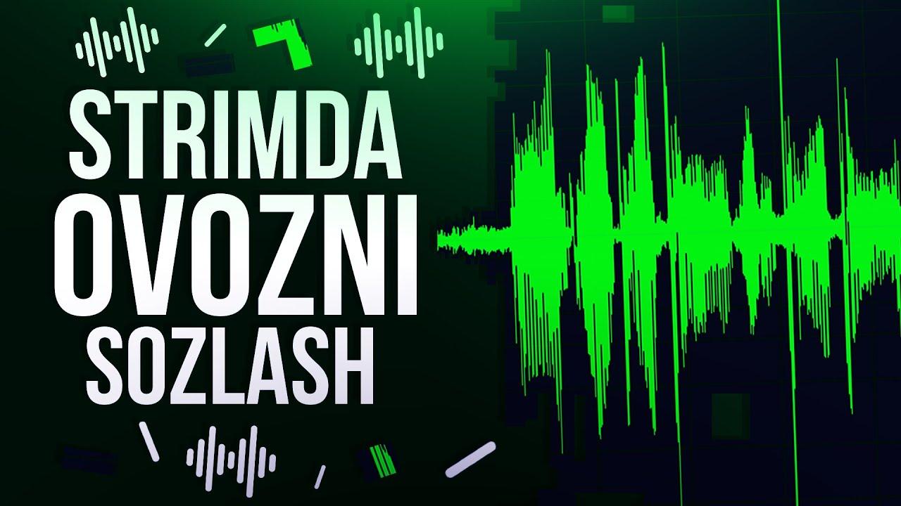 STRIMDA OVOZNI SOZLASH // MIKRAFONNI SOZLASH //STREAM QILISH SIRLAR // shumni o'chirish MyTub.u