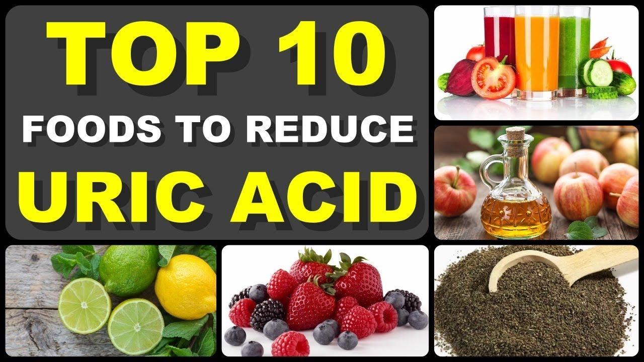 Uric acid diet low