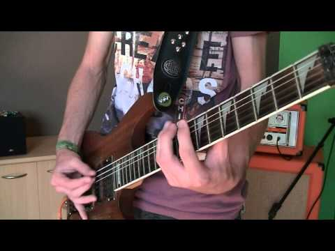 Escape The Fate - Issues (guitar cover by GDR)
