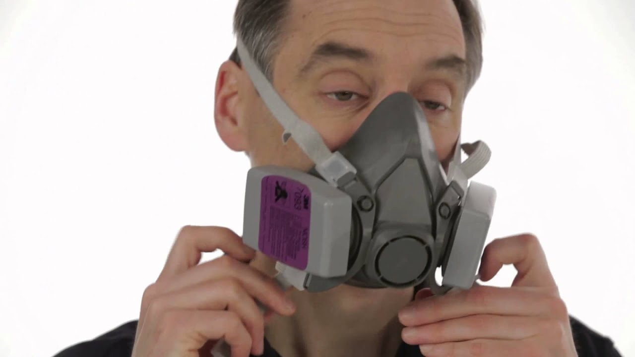 Respirator Half Chapter Seal Training - Video 7 Facepiece Check User 6000 3m™ Series