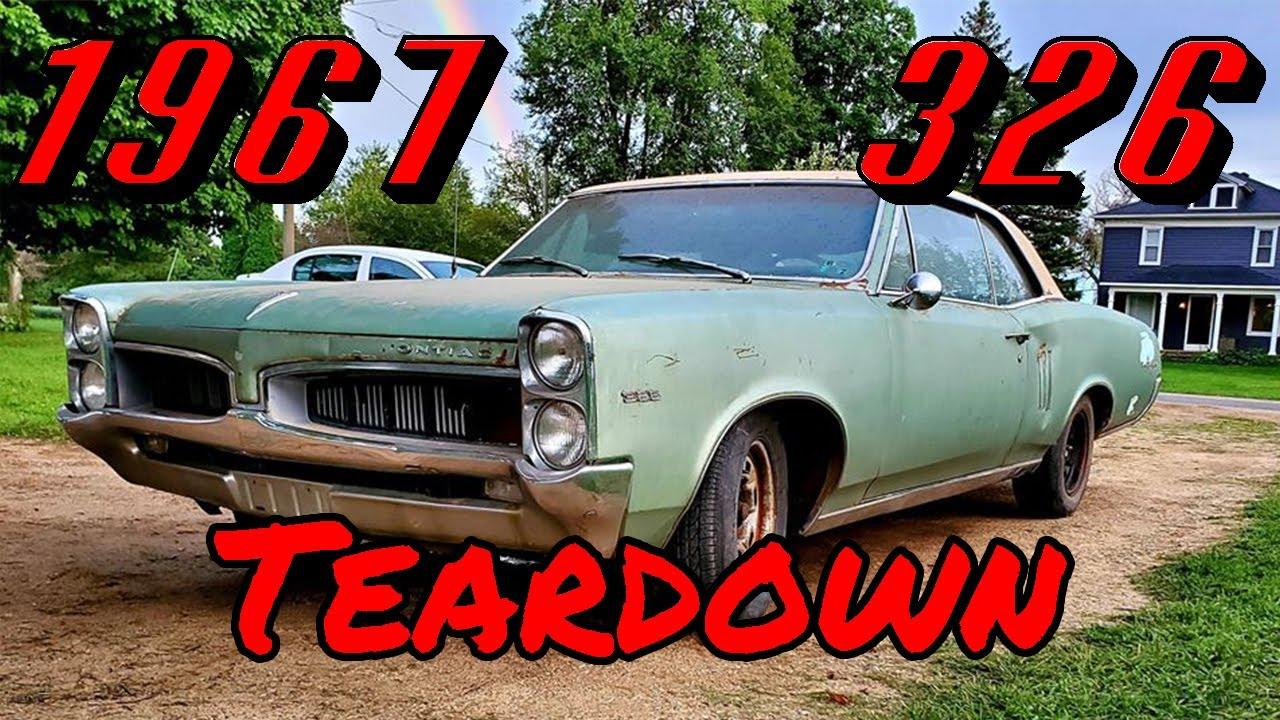 Pontiac 326 Inspection 1967 Pontiac Lemans Budget Restoration Youtube