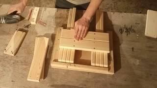 як зробити дерев'яний складаний стілець своїми руками