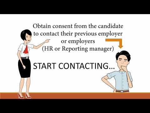 Employment Verification  Process
