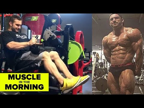 CODY MONTGOMERY HITS LEGS! Muscle in the Morning (1/16/18)