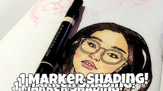 How To: Color Skin With 1 Marker