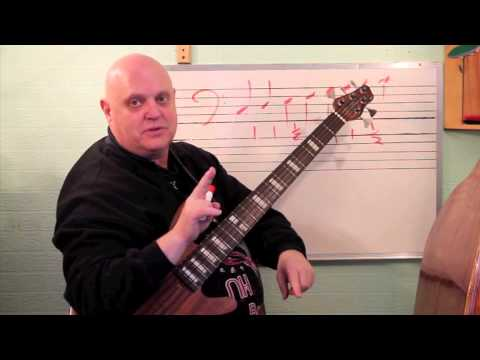 Real Bass Lessons 1 - Music Theory - Major Scale Construction