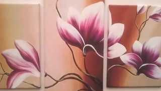 Модульная картина  цветы 193(Купить эту картину можно тут., 2014-06-14T09:04:21.000Z)