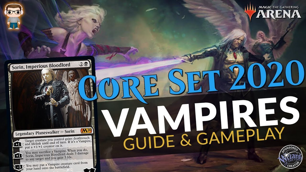 Orzhov Vampires - Core Set 2020 Standard Deck Guide & Gameplay - MTG Arena
