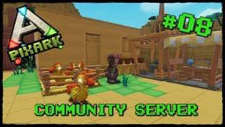 PixARK #08 Community Server Start | Farming Simulator  | Lets Play PixARK Deutsch German