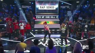 Justina Valentine VS Conceited Pick up and kill it MTV Wild N Out