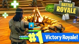 COZY CAMPFIRE GAMEPLAY - HOW IT WORKS! (Fortnite Battle Royale New Update)