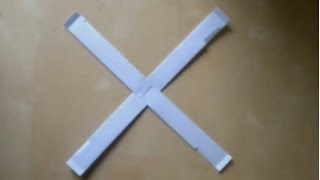 How to make a Indoor Paper Boomerang