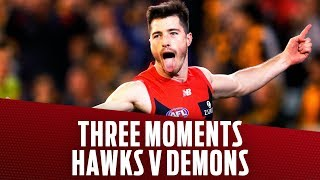 Hawthorn v Melbourne | Three moments that mattered | Semi Final, 2018 | AFL