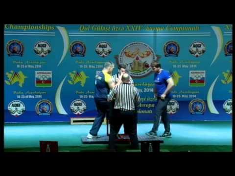 SENIOR MEN RIGHT 110KG SERGIY, TOKAREV UKRAINE 3338 vs ARTEM, GRISHIN RUSSIA 2842