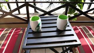 발코니 테이블 공원 벤치 정원 의자 전원주택 야외