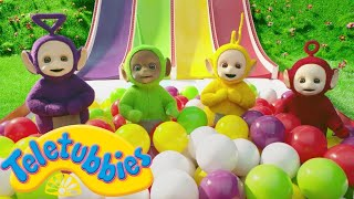 ★Teletubbies English Episodes★ Sliding Down ★ NEW Season 16 Episode (S16E73) Cartoons For Kids