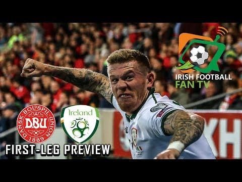 Republic of Ireland vs Denmark 1st Leg Preview