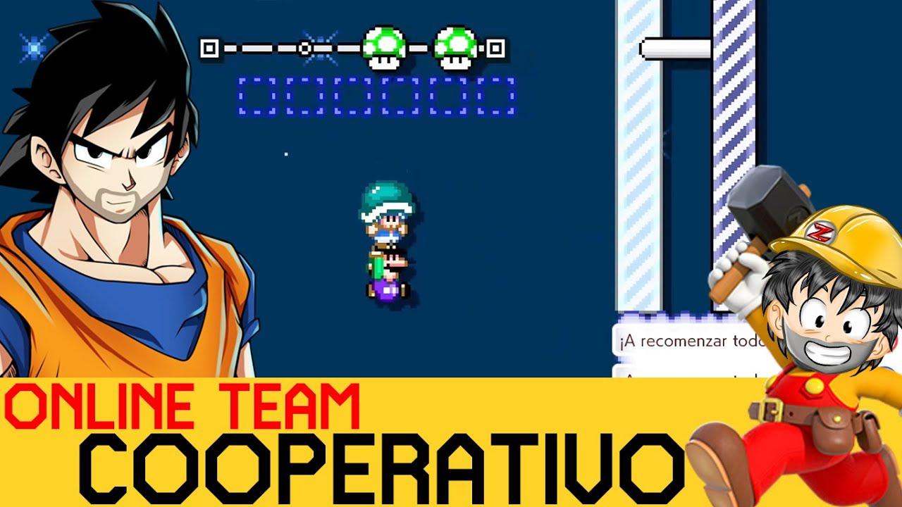 Cuando el HÉROE soy YO!!! 0: - COOPERATIVO ONLINE #3 | Super Mario Maker 2 - ZetaSSJ