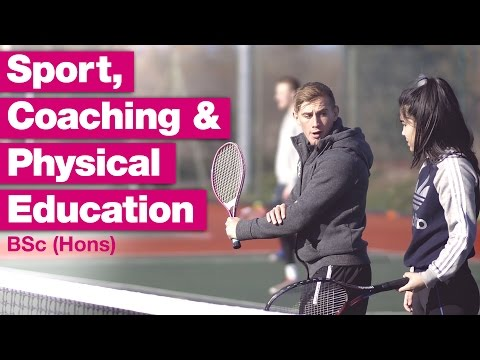 Sport, Coaching & Physical Education Degree