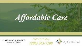 Affordable Dental Care in Seattle, WA - Dr. AJ Gollofon