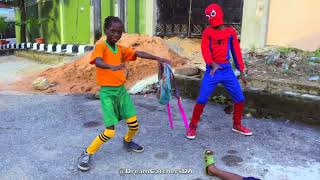 SpiderMan - Rema - Dance Video by The Happy 39African39 Kids  Dream Catchers