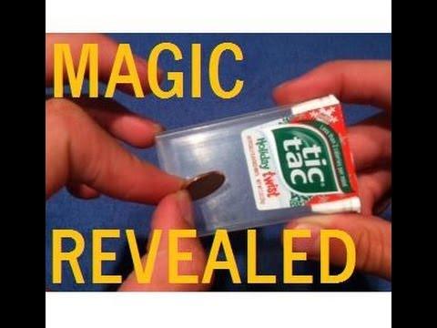 tic tac magic trick revealed easy magic trick money magic trick