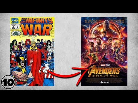 Top 10 Differences Between Avengers Infinity War Comic Book & Movie
