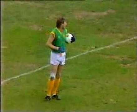 VFL Football 2nd Gaelic Test 1986 - Australia V Ireland