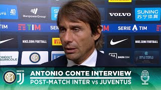 "INTER 1-2 JUVENTUS | ANTONIO CONTE INTERVIEW: ""We're just at the start of our journey"" [SUB ENG]"