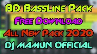 BD BassLine Pack 2020 | All New Pack FL Mobile 2020 | BD Top BassLine Pack | New BassLine Pack 2020