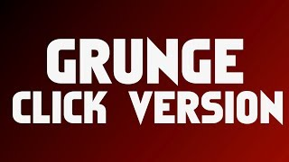 Grunge Rock Backing Track For Drums Click Version