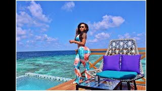 Vera Sidika Celebrating Birthday in Maldives
