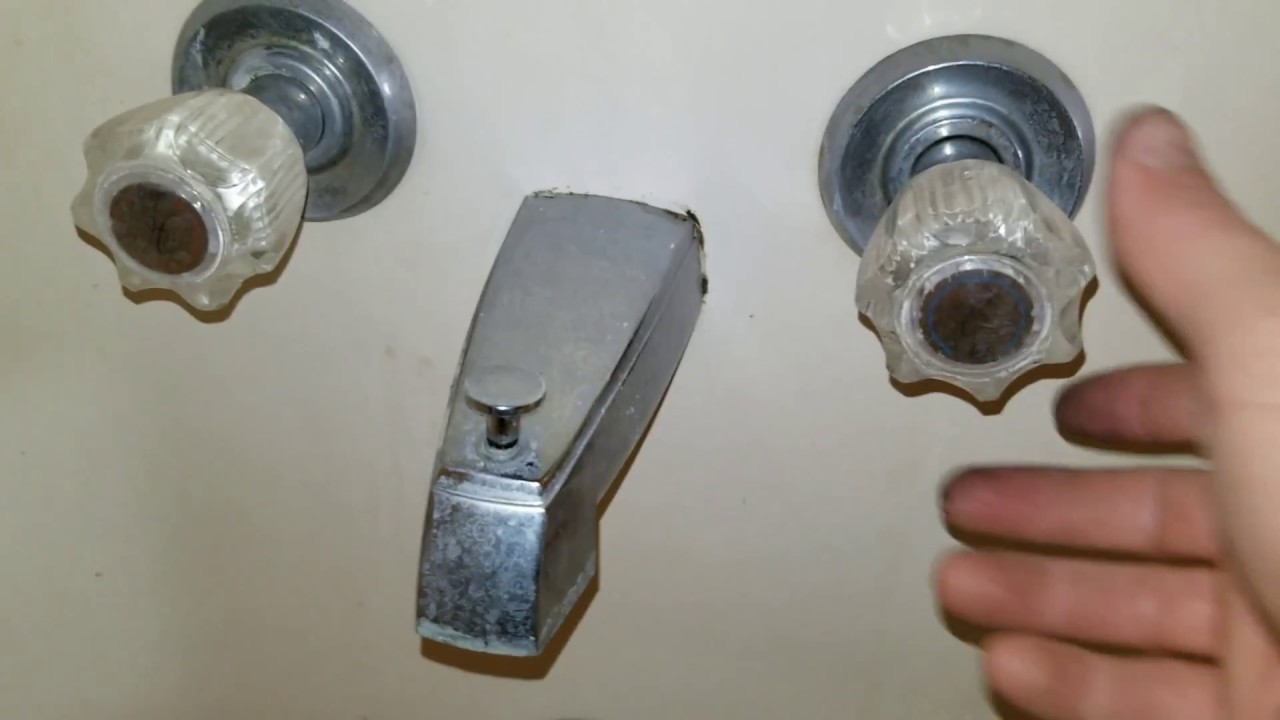 Diy Bathtub Faucet Repair Youtube