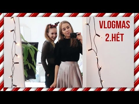 VLOGMAS 2. hét - Youtuber buli és VIP Punnany Massif koncert   AlexaVlog