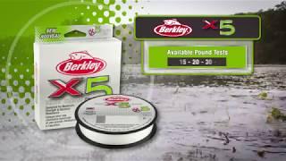 NEW Berkley® x5 Braid