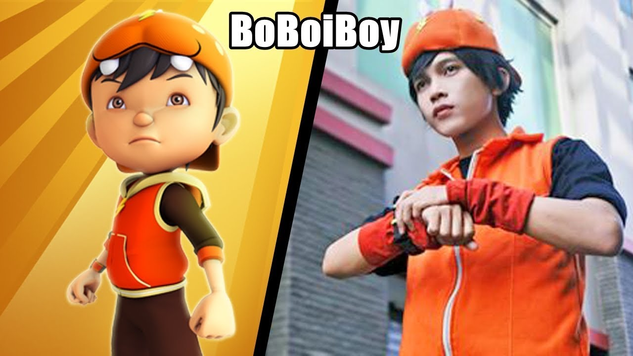 BoBoiBoy Galaxy Characters In Real Life | 2019
