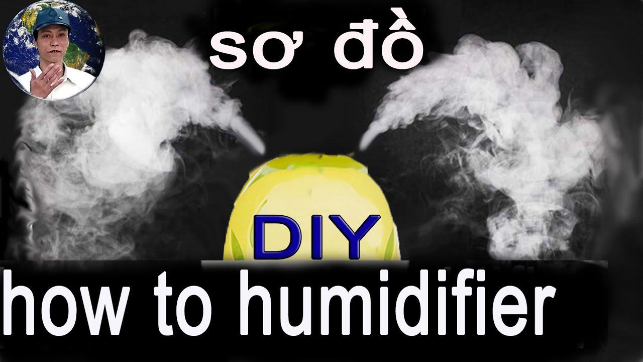 Homemade Nebulizer Circuits Air Humidifier Youtube Ultrasonic Fogger Circuit Atomizer