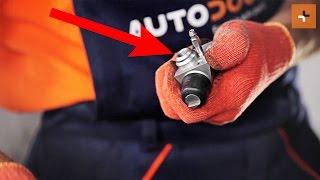 Πώς να αλλάξετε kυλινδράκι φρένων οπίσθιου τροχού του SKODA ROOMSTER 1 | Autodoc