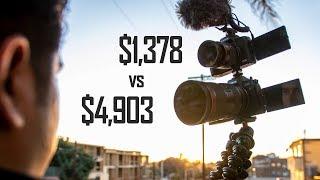 Canon EOS R vs M50 Vlog Camera