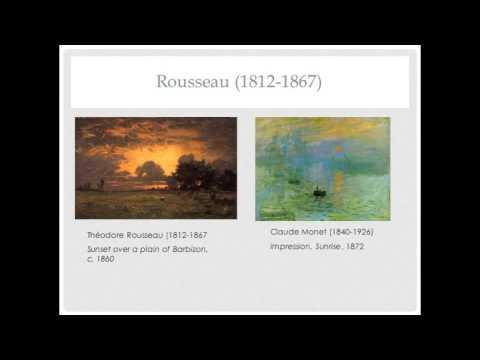 Romantic Realism--Neoclassicism to Impressionism