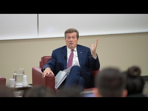 John Tory, Mayor of Toronto