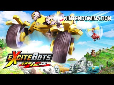 BEST Wii GAMES - ExciteBots: Trick Racing