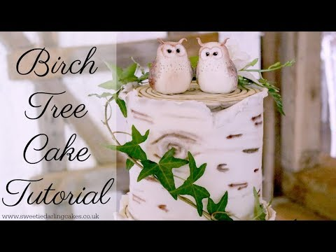 how-to-make-a-birch-tree-effect-cake