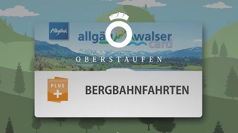 Oberstaufen PLUS: gratis Bergbahnfahren im Allgäu