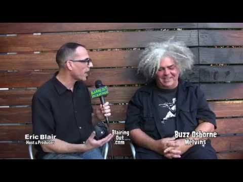 The Melvins Buzz Osborne Talks W Eric Blair 2014