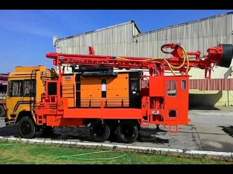 DRILL RIG WITH SPECIAL FEATURES BY KLR INDUSTRIES