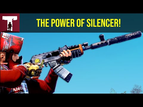 THE POWER OF SILENCER! (Rust) thumbnail