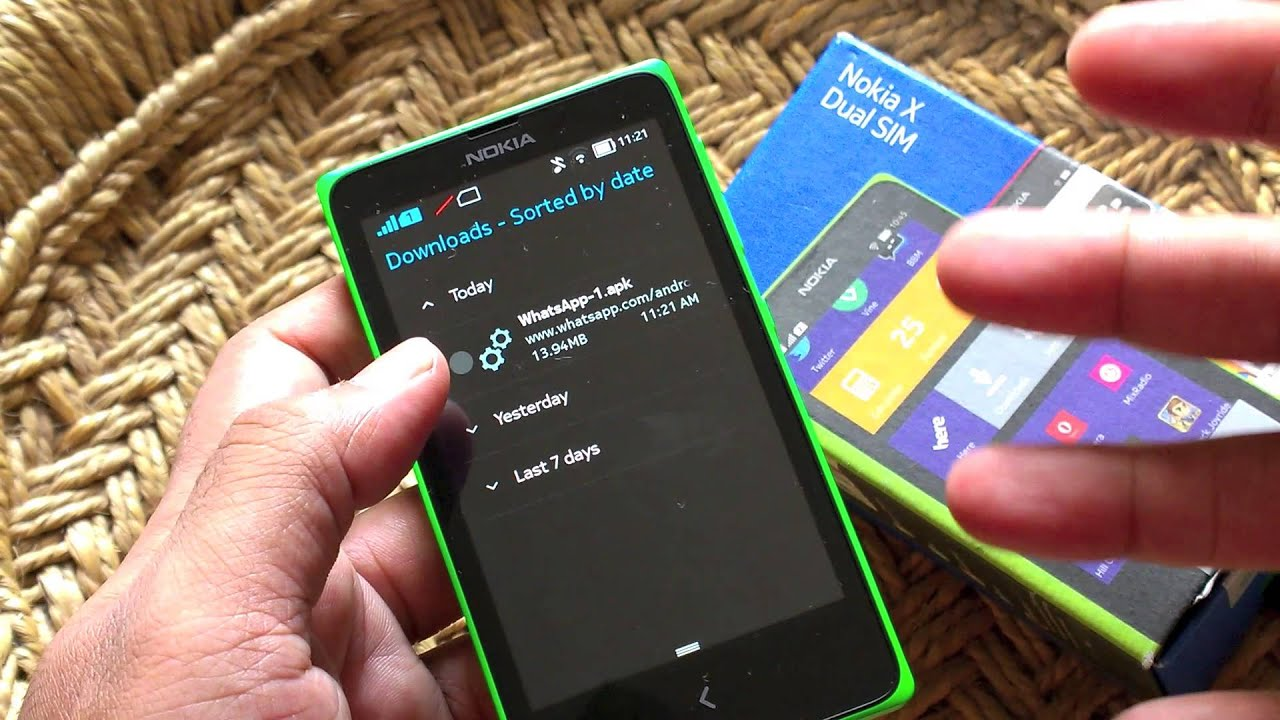 Telechargement whatsapp messenger for nokia - Nokia X How To Install Whatsapp Instagram Or Any Android Apk Youtube